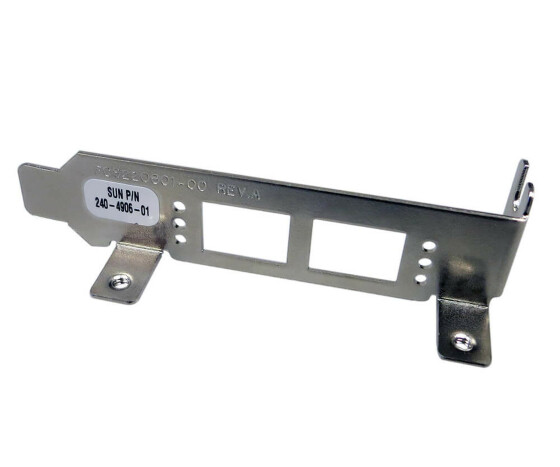 Sun 240-4906 - 4 Gigabit/Sec PCI-X Dual Channel Fibre Channel Host Bus Adapter Low Profile Bracket - für Sun Blade 1000