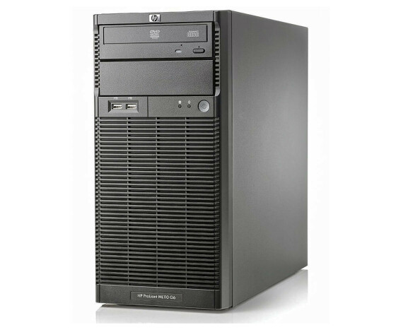 HP ProLiant ML110 G6 - Server - Tower - Pentium G6950 / 2.8 GHz - RAM 1 GB - Festplatte 250 GB - DVD