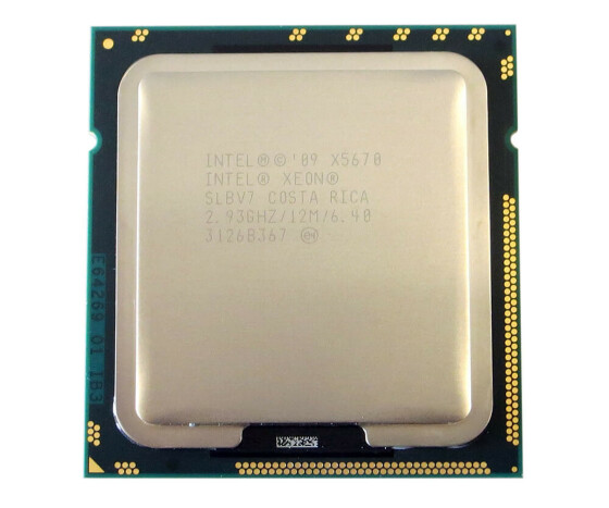 IBM 59Y4025 - Intel Xeon X5670 - 2.93 GHz Prozessor - Socket FCLGA1366 - 12 MB - 6-Core - KIT