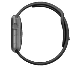 Apple Watch - 42mm - Space Gray - Aluminum Gehäuse mit...