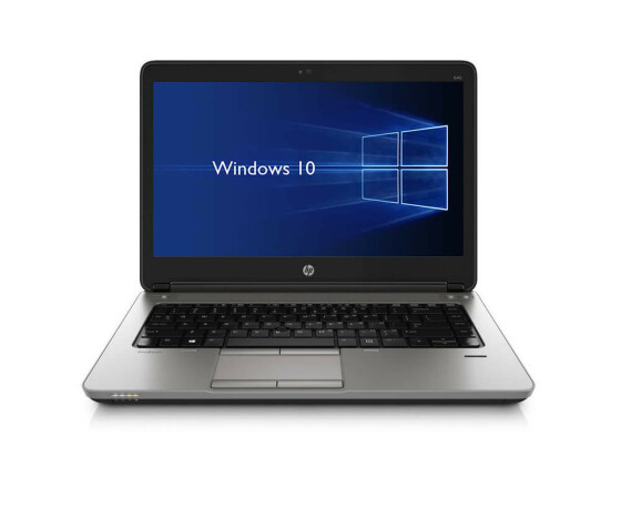 HP ProBook 640 G1 - Core i5-4300M / 2.60 GHz - 4 GB RAM - 128 GB SSD - 14.0 - Win 10
