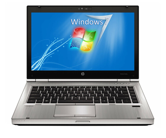 HP EliteBook 8470p - Core i5-3320M / 2.6 GHz - 4 GB RAM - 128 GB SSD - 14 TFT - W7