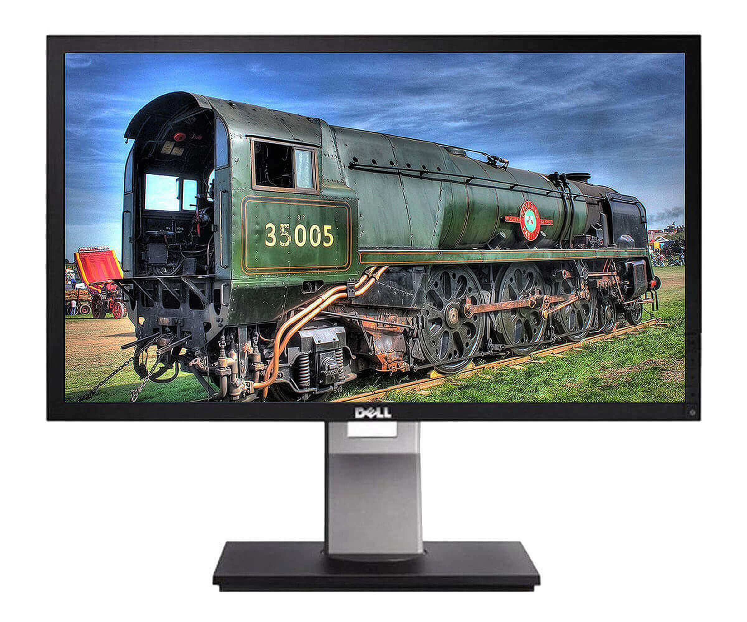 Dell Professional P2411H - LCD-Display - TFT - 61 cm ( 24 ) - 1920 x 1080 FullHD - 5ms