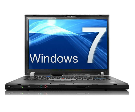 Lenovo ThinkPad T500 - 2089 - Core 2 Duo P8400 / 2.26 GHz - 2 GB RAM - 160 GB HDD - 15.4 -  Win 7