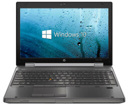 HP EliteBook 8570w - Core i7-3720QM / 2.60 GHz - 8 GB RAM...