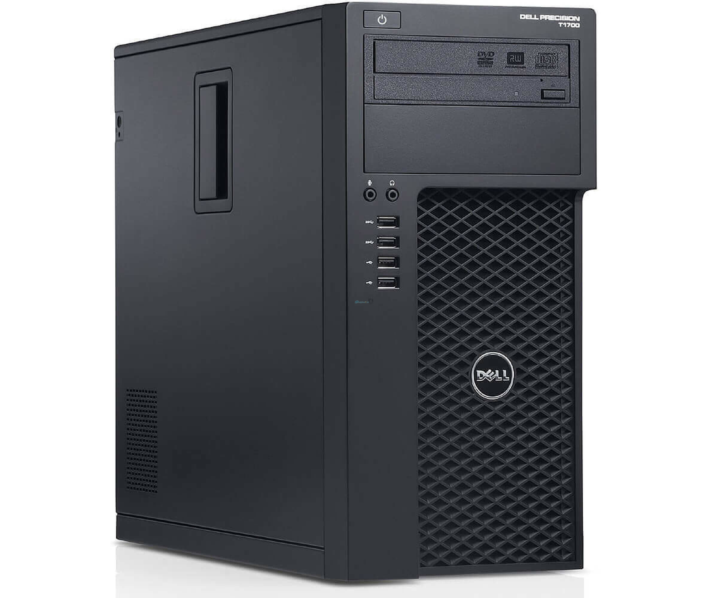 PC Systeme, Computer - Dell Precision T1700 MT Core i7 4770 3.40 GHz RAM 4 GB 500 GB W7P  - Onlineshop Noteboox.de