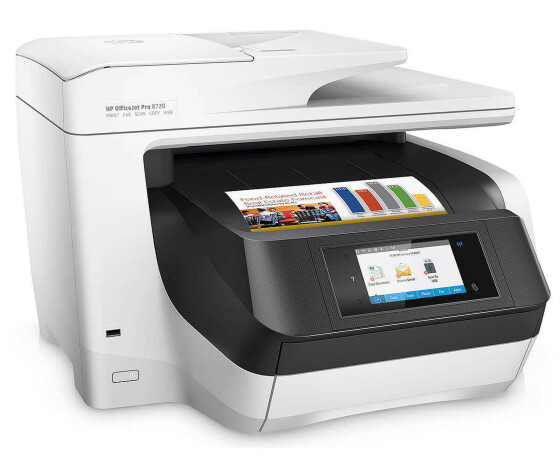 Noteboox.de HP Officejet Pro 8720 All-in-One - D9L19A - Multifunktionsdrucker - Faxgerät - Kopierer - Drucker - Scanner