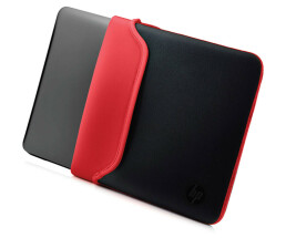 "HP Notebook Sleeve - V5C26AA - Notebook Sleeve - Neoprene Sleeve - 14 ""- black, red"