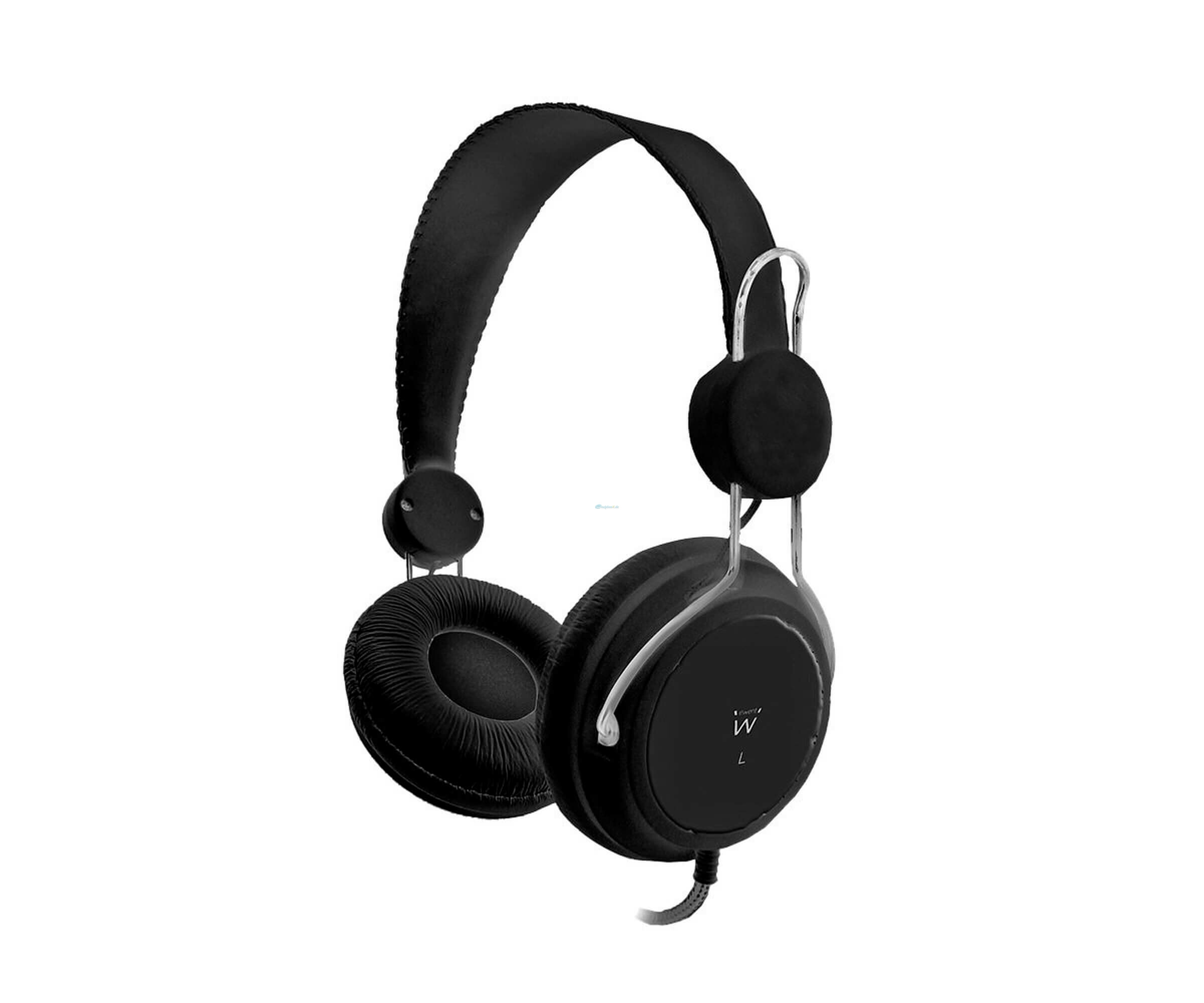 Ewent - EW3577 - Head Phones - On-Ear Kopfhörer - schwarz