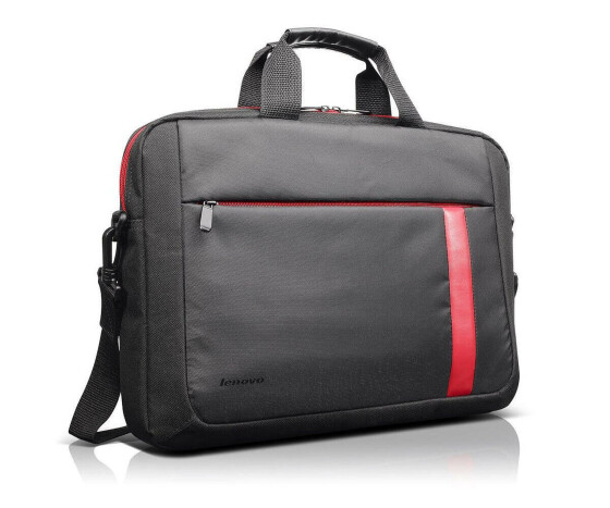 Lenovo T2050 - 888013751 - Notebook-Tasche - 15.6 - Toploader Laptop Bag - Schwarz / Rot