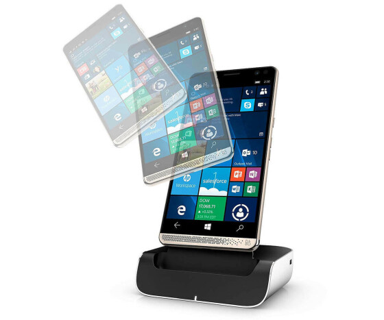 HP Elite x3 Premium Pack Y1M46EA - Graphite - 4G LTE, LTE Advanced - 64 GB - GSM - Windows Smartphone