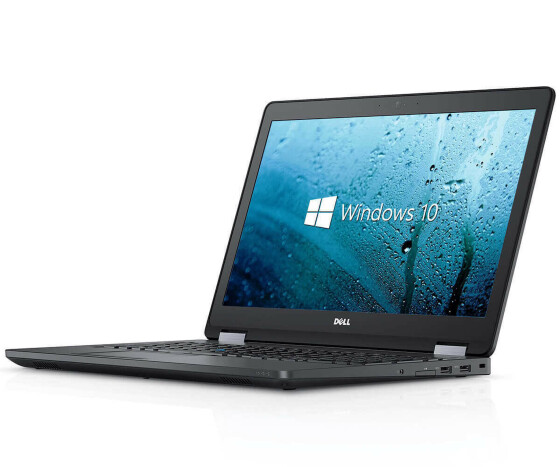 Dell Latitude E5570 - Core i5 6300U / 2.40 GHz - 8 GB RAM - 256 GB SSD - 15.6 TFT -  W10