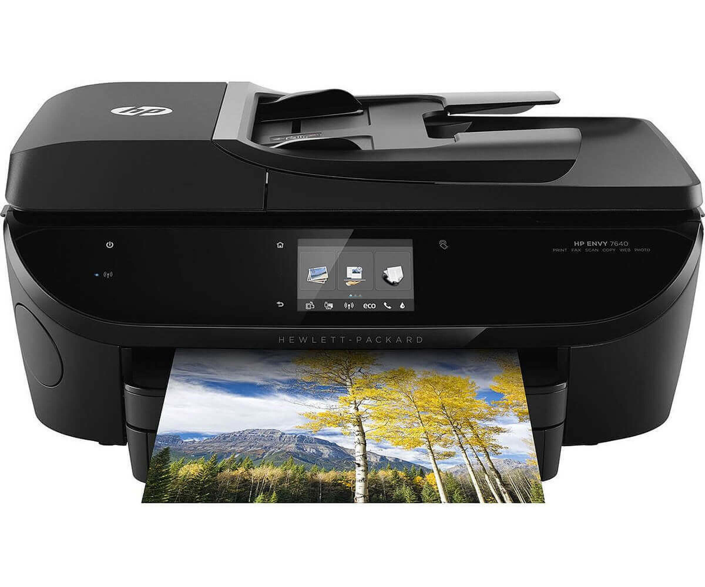 HP Envy 7640 e-All-in-One - E4W47A - Multifunktionsdrucker (Farbe) - Drucker - Kopierer - Scanner - Fax