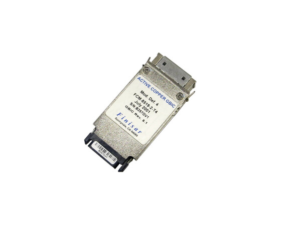 Finisar FCM-8519-2-T4 - 1000BASE-CX Gigabit Ethernet RJ45...