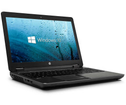 "HP ZBOOK 15 Mobile Workstation - 750 GB HDD - 15.6 ""TFT - W10 - Core i7-4800MQ / 2.70 GHz - 8 GB RAM"