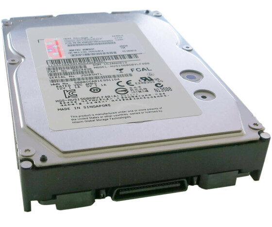 IBM 45W3387 - Festplatte - 600 GB - 15000 rpm - 3.5 - Fibre Channel