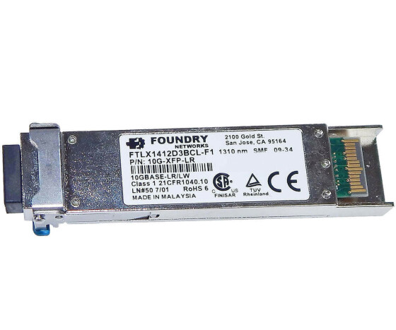 Brocade Foundry Networks 10G-XFP-LR - XFP Transceiver Modul - 1310nm - 10GBASE-LR XFP