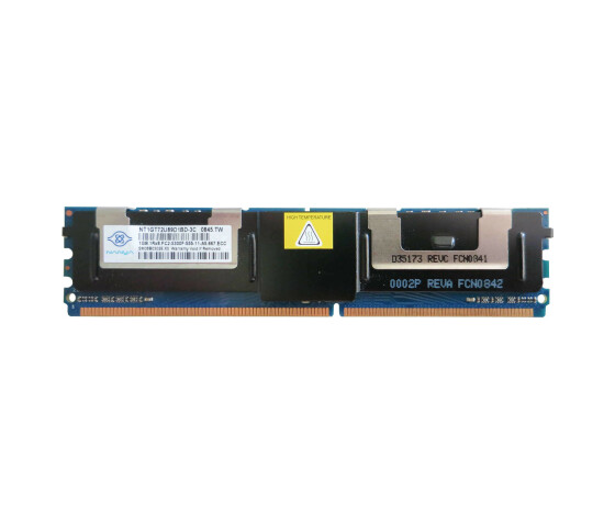 Dell G052C Memory Kit - 1 GB (1x 1 GB) - PC2-5300F - DIMM...
