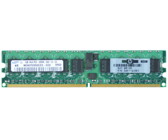HP 345113-851 Memory - 1 GB - PC-3200 - DIMM 240-PIN -...