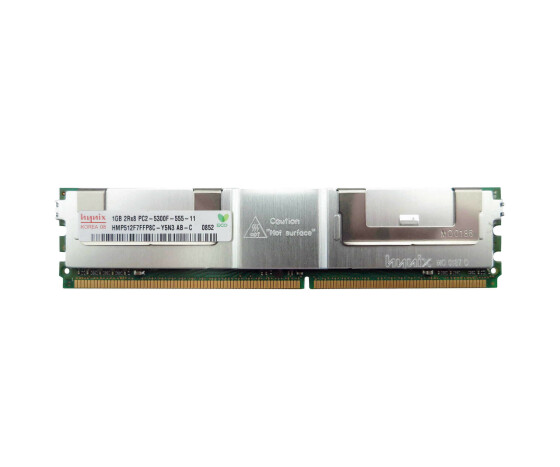 HP 397411-B21 Memory Kit - 2 GB (2x 1 GB) - PC-5300 - DIMM 240-PIN - DDR2 SDRAM
