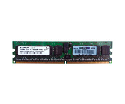 HP 343055-B21 Memory Kit - 1 GB (2x 512 MB) - PC-3200 -...