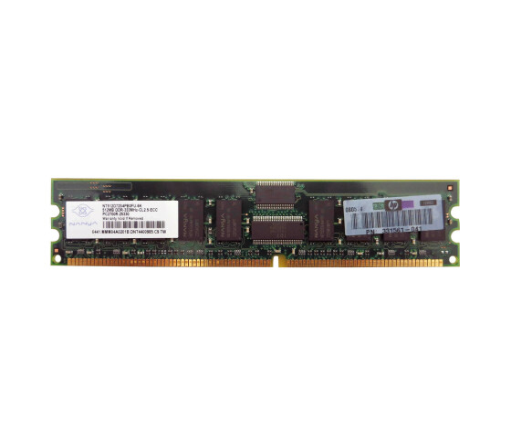 HP 371047-B21 Memory Kit - 1 GB (2x 512 MB) - PC-2700 - DIMM 184-PIN - DDR SDRAM