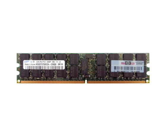 HP AB565AX memory - DDR2 SDRAM - 2 GB - PC 4200 - DIMM 240-pin