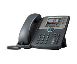 Cisco Small Business - SPA525G2 - VoIP Telefon - WLAN - Silber/Dunkelgrau