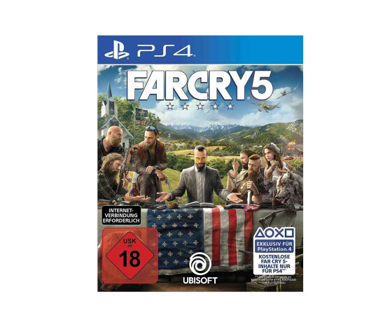 Far Cry 5 - PlayStation 4 - Action-Adventure, Ego-Shooter - 2018 - USK 18