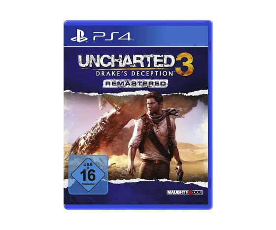 "Uncharted 3: Drake""s Deception Remastered - PlayStation 4 - Action-Adventure - 2015 - USK 16"