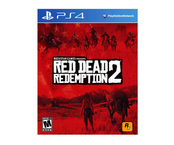 Red Dead Redemption II - [PlayStation 4] - Action-Adventure, Open World - 2018 - USK 18 - Standard Edition