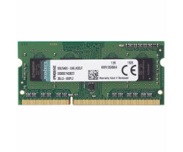 Kingston KVR13S9S8 / 4 Memory - SODIMM 204-pin - DDR3 - 4...