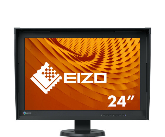 "EIZO ColorEdge CG247X - LED-Monitor - 61.2 cm (24.1"") - 1920 x 1200 - IPS - 400 cd/m² - 1500:1 - 10 ms - HDMI, DVI-D, DisplayPort - Schwarz"