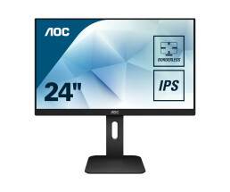 "AOC Pro-line 24P1 - 60.5 cm (23.8"") - 1920 x 1080 pixels - Full HD - LED - 5 ms - Black"