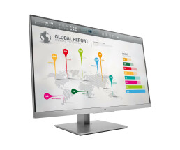 "HP EliteDisplay E273q - 68.6 cm (27"") - 2560 x 1440 pixels - Quad HD - LED - 5 ms - Black,Silver"