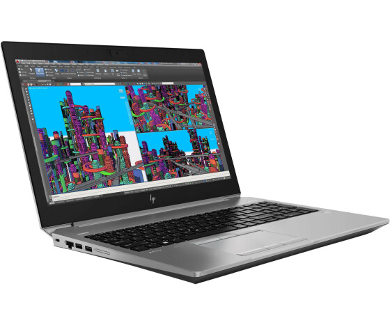 HP ZBook 15 G5 Mobile Workstation - Core i7 8850H / 2.6 GHz - Win 10 Pro 64-Bit - 16 GB RAM - 512 GB SSD NVMe, TLC - 39.62 cm (15.6) IPS Touchscreen 1920 x 1080 (Full HD) - Quadro P2000 / UHD Graphics 630 - Wi-Fi, Bluetooth - 4G - Turbo Silber
