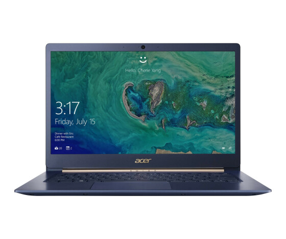 Acer Swift 5 SF514-53T-73JN - Core i7 8565U / 1.8 GHz - Win 10 Home 64-Bit - 8 GB RAM - 512 GB SSD - 35.56 cm (14) IPS Touchscreen 1920 x 1080 (Full HD) - UHD Graphics 620 - Wi-Fi, Bluetooth - dunkelgrau blau