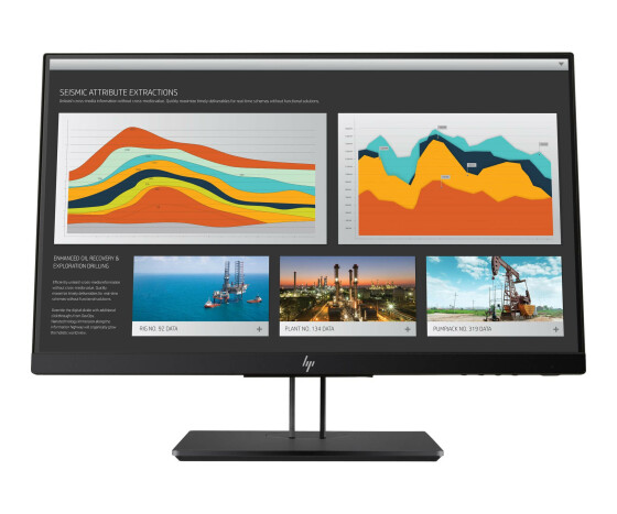 HP Z22n G2 - LED-Monitor - 54.61 cm (21.5) (21.5 sichtbar) - 1920 x 1080 Full HD (1080p) - IPS - 250 cd/m² - 1000:1 - 5 ms - HDMI, VGA, DisplayPort - Space Silver, Kinn aus schwarzen Perlen, Boden aus Aluminium-Druckguss mit perlmuttschwarzer Lackierung