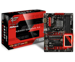 ASRock Fatal1ty Gaming from350 K4 AMD B350 motherboard -...