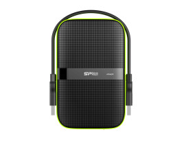 "Silicon Power Armor A60 - 2000 GB - 2.5"" - 2.0/3.2 Gen 1 (3.1 Gen 1) - Black"