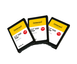 "Intenso - 512 GB SSD - intern - 2.5"" (6.4 cm) - SATA 6Gb/s - Puffer: 256 MB"