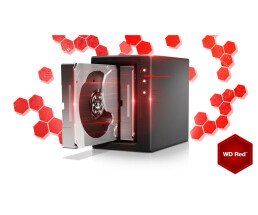 "WD Red NAS Hard Drive WD30EFRX 3.5"" SATA 3,000 GB - Hdd - 5,400 rpm 8.9 ms - Internal USB, USB 2.0"