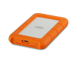 "LaCie Rugged USB-C - 1000 GB - 2.5"" - 3.2 Gen 1 (3.1 Gen 1) - Orange,Silver"