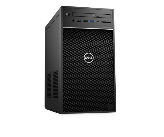 Dell Precision 3630 Tower - MT - 1 x Xeon E-2174G / 3.8 GHz - RAM 8 GB - SSD 256 GB - DVD-Writer - Quadro P620 - GigE - Win 10 Pro 64-Bit - vPro - Monitor: keiner - BTS - mit 1 Jahr ProSupport mit Vor-Ort-Servie am nächsten Werktag (CH - 3 Jahre; IRL, GB