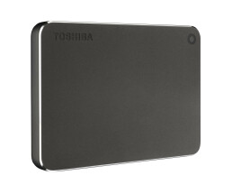 Toshiba Canvio Premium 1 TB Dark grey metallic - 1000 GB...