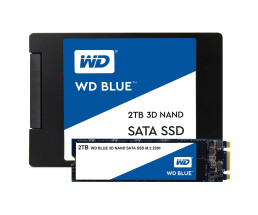 "WD Blue 3D - 2048 GB - 2.5"" - 560 MB/s - 6 Gbit/s"