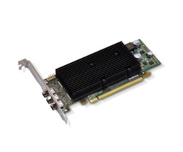 Matrox M9138 - Grafikkarten - M9138 - 1 GB - PCIe x16 Low-Profile - 3 x ADC