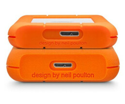 LaCie Rugged Mini - 4000 GB - 3.2 Gen 1 (3.1 Gen 1) - 5400 RPM - Orange