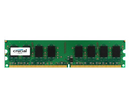 Crucial - DDR2 - 2 GB - DIMM 240-PIN - 800 MHz / PC2-6400...