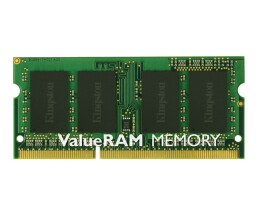 Kingston ValueRAM - DDR3 - 2 GB - SO DIMM 204-PIN - 1333 MHz / PC3-10600 - CL9 - 1.5 V - ungepuffert - non-ECC